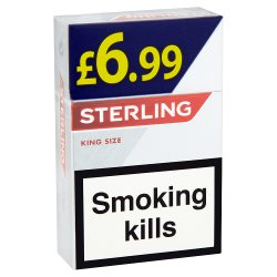Sterling King Size GBP6.99