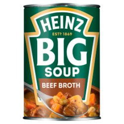 Heinz Big Soup Beef Broth 400g