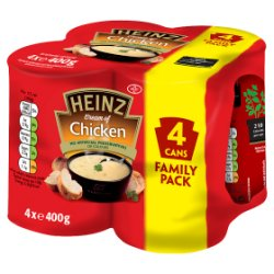 Heinz Classic Cream of Chicken Soup 4 x 400g