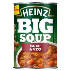 Heinz Big Soup Beef & Veg 400g