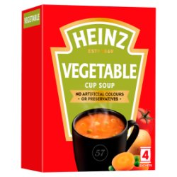 Heinz Classic Vegetable Cup Soup 4 x 19g (76g)