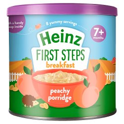 Heinz 7+ Months First Steps Peachy Porridge 240g