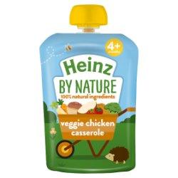 Heinz 4+ Months By Nature Veggie Chicken Casserole 100g