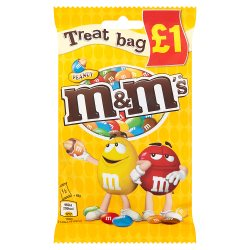 M & M Peanut Treat Bag GBP1