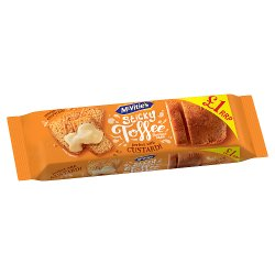 McVitie's Sticky Toffee Flavour Cake