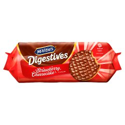 McVitie's Digestives Strawberry Cheesecake Flavour 243g