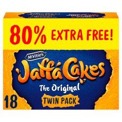 McVitie's Jaffa Cakes Original 80% Extra Free Biscuits 18 Pack