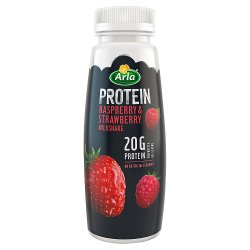 Arla Protein Raspberry & Strawberry Milk Shake 225ml
