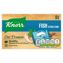Knorr Fish Stock cubes 8 x 10g