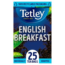 Tetley English Breakfast Tea Bags x25