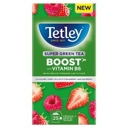 Tetley Envelope Boost Strawberry & Raspberry
