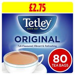 Tetley Original 80 Tea Bags 250g