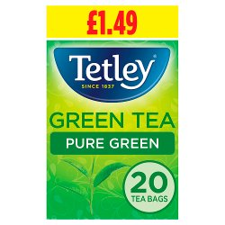 Tetley Pure Green Tea Bags PMP x20