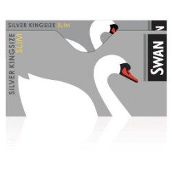 Swan Silver Kingsize Slim x 50