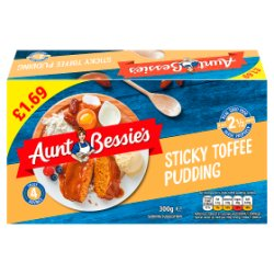 Aunt Bessie's Sticky Toffee Pudding 300g