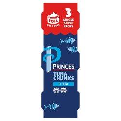 Princes Tuna Chunks in Brine 3 x 80g