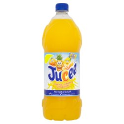 Jucee No Added Sugar Orange, Lemon & Pineapple 1.5 Litre