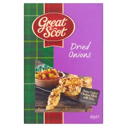 Great Scot Dried Onions 40g