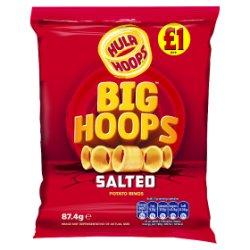 Hula Hoops Big Hoops Salted Potato Rings 87.4g