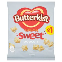 Butterkist Cinema Sweet Popcorn 85g