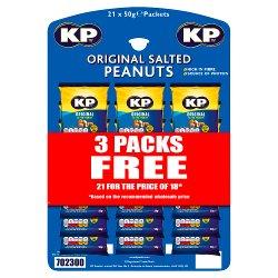KP Original Salted Peanuts 21 x 50g