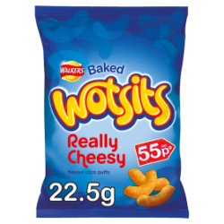 Walkers Wotsits Really Cheesy Snacks PMP 22.5g