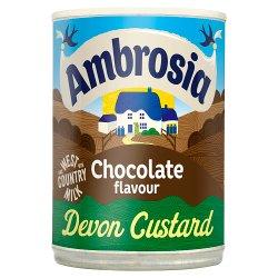 Ambrosia Chocolate Flavour Devon Custard 400g