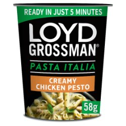Loyd Grossman Pasta Italia Chicken Pesto Pot 58g