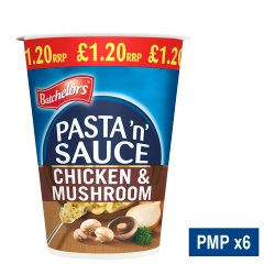 Batchelors Pasta 'n' Sauce Chicken & Mushroom Flavour 65g