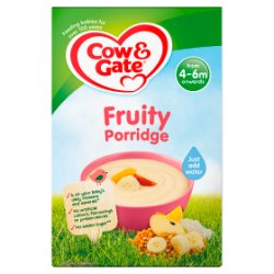 Cow & Gate Fruity Porridge Baby Cereal 125g