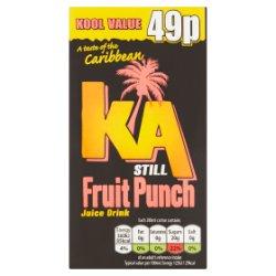 KA Still Fruit Punch Juice Drink 288ml