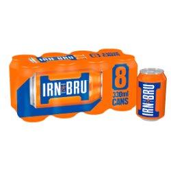 IRN-BRU 8 x 330ml Cans