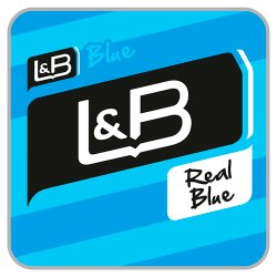 L & B Blue Kingsize Real Blue