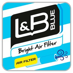 L&B Blue Bright Air Filter 20s
