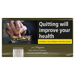 JPS Players Easy Rolling Tobacco including Papers 50g
