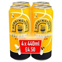 Boddingtons Draught Bitter 4 x 440ml