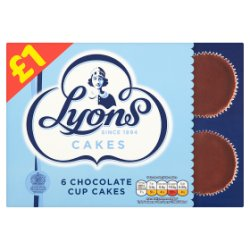 Lyons Choc Cup Cakes