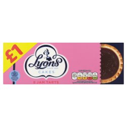 Lyons Jam Tarts PM GBP1