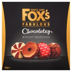 Fox's Fabulous Chocolatey Biscuit Selection 365g