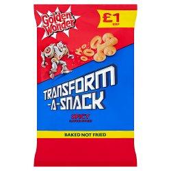 Golden Wonder Transform-A-Snack Spicy Flavour Snacks 80g