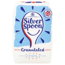 Silver Spoon British Granulated Sugar 1kg