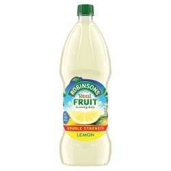 Robinsons No Added Sugar Double Strength Lemon 1.75L