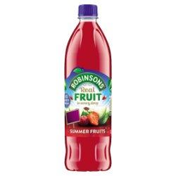Robinsons No Added Sugar Summer Fruits 1L