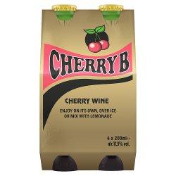Cherry B 4 x 200ml