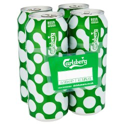 Carlsberg 4 For GBP4.59