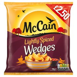 Mccain Light Spiced Wedge PM £2.50