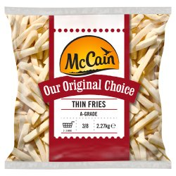 McCain Our Original Choice Thin Straight Cut Chips 2.27kg