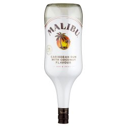 Malibu Original White Rum with Coconut Flavour 1.5L