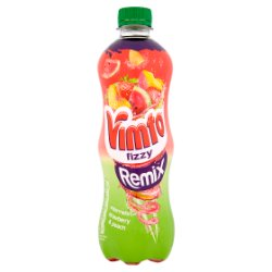 Vimto Fizzy Remix Watermelon, Strawberry & Peach 500ml