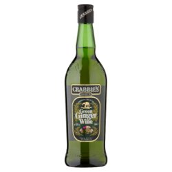 Crabbie's Original Scottish Green Ginger Wine 70cl